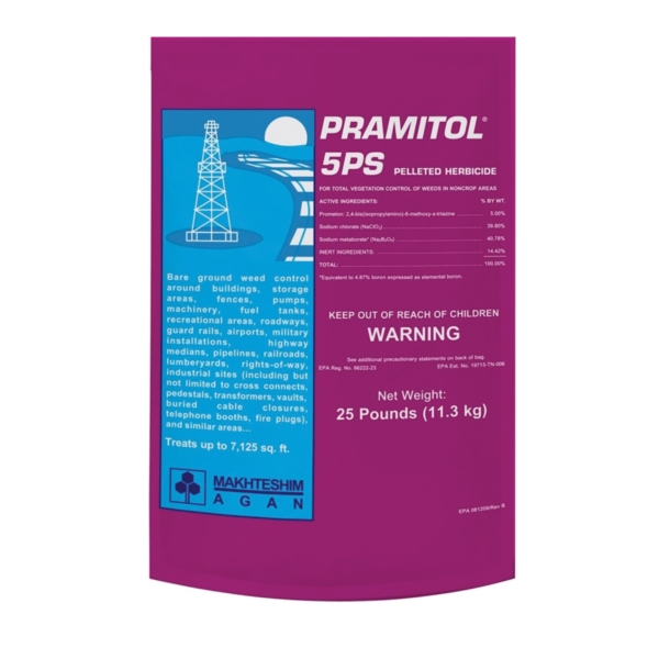 Picture of Martin's Pramitol 82100040 Pelleted Herbicide, Solid, White, 25 lb Package