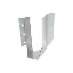 Picture of MiTek SKH26L-TZ Skewed Joist Hanger, 5-1/4 in H, 1-7/8 in D, 1-9/16 in W, 2 in x 6 to 8 in, Steel, Zinc