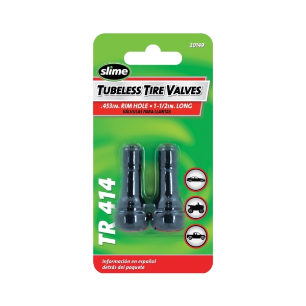 Picture of Slime 20149 Tire Valve, Rubber