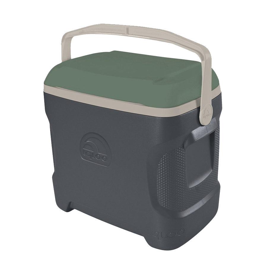 Picture of IGLOO 49625 Ice Chest, 30 qt Cooler, HDPE Resin, Green