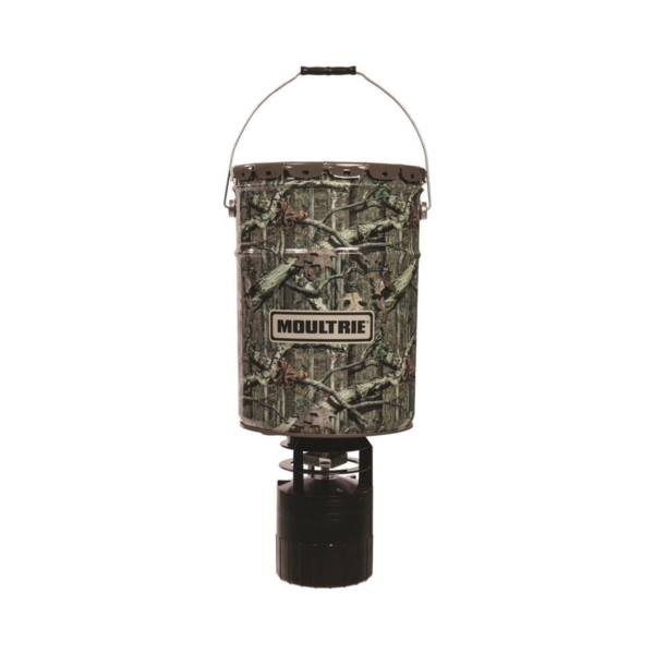 Picture of MOULTRIE MFG-13454 Deer Feeder, 360 deg Feed Pattern, ABS