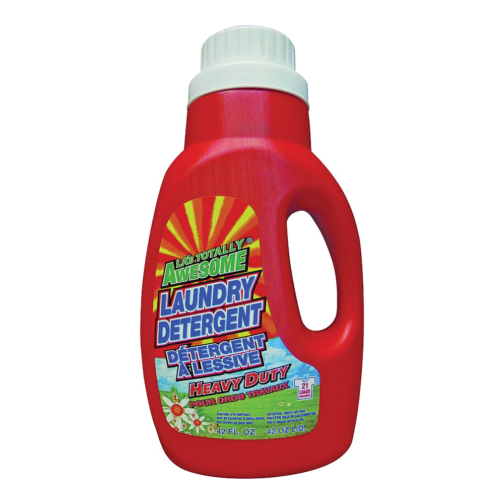 Picture of LA's TOTALLY AWESOME 227 Laundry Detergent, 42 oz, Jug, Liquid, Original