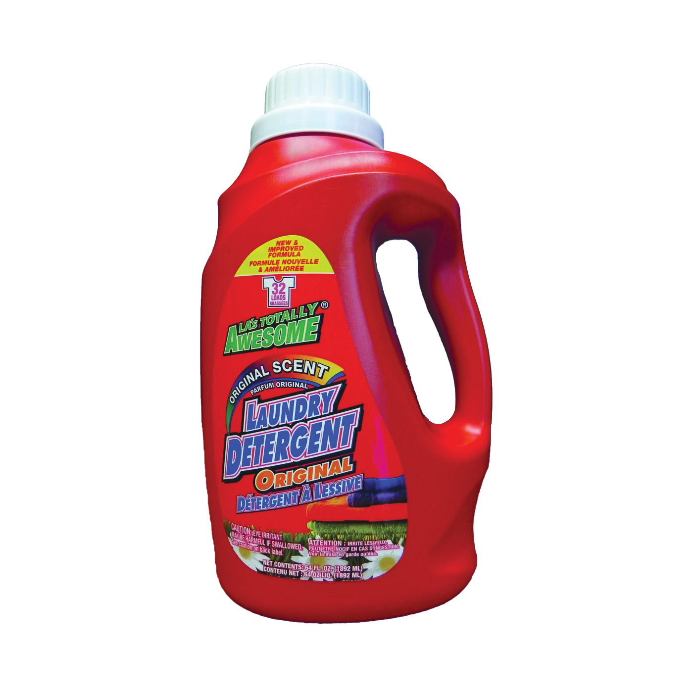 Picture of LA's TOTALLY AWESOME 233 Laundry Detergent, 64 oz, Liquid, Original