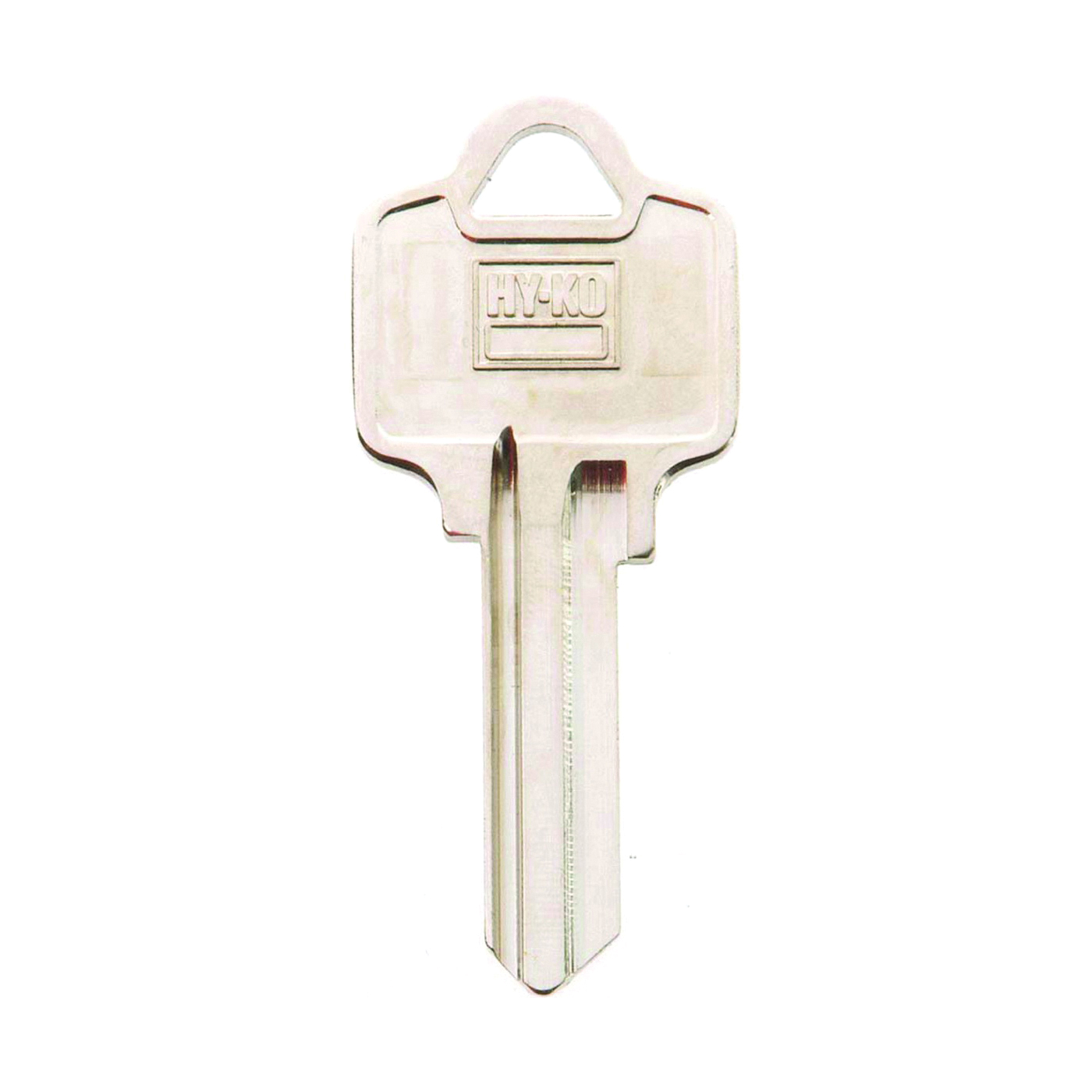 Picture of HY-KO 11010AR1 Key Blank, Brass, Nickel, For: American Cabinet, House Locks and Padlocks