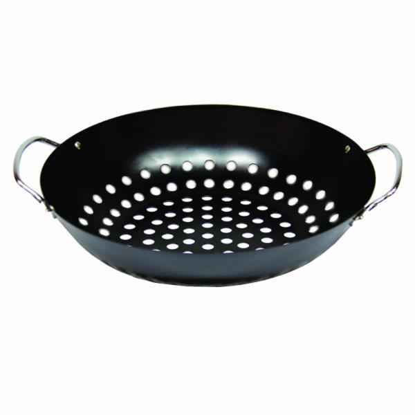 Picture of Big Green Egg 002068 Grill Wok, 11 in Dia