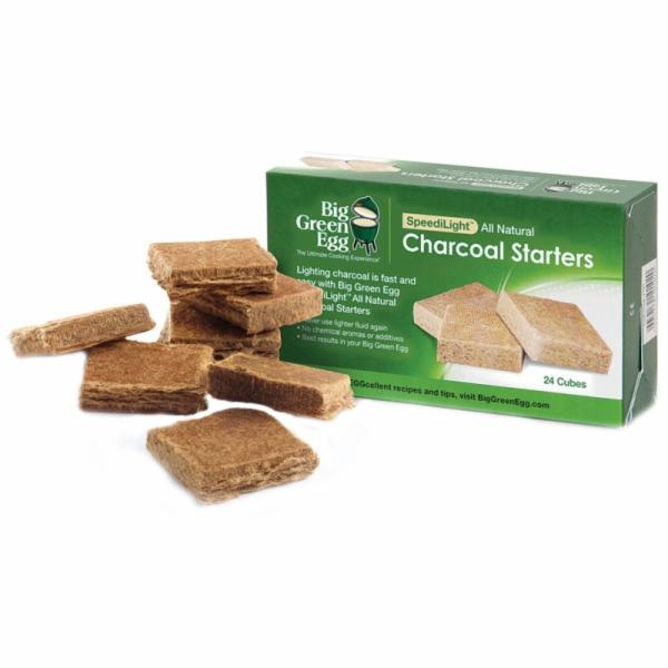 Picture of Big Green Egg SpeediLight 101020 Charcoal Starter, Natural, For: Big Green Egg Grill