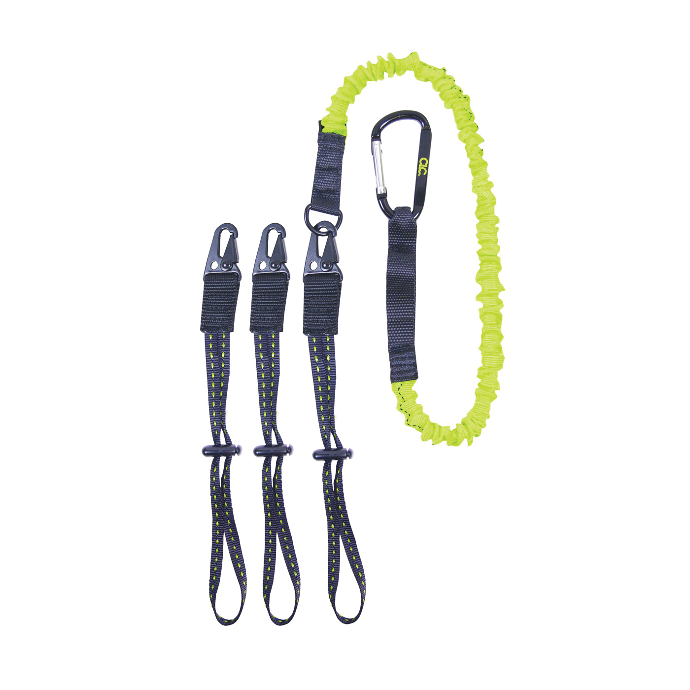 Picture of CLC GEAR LINK 1025 Tool Lanyard, 41 to 56 in L, 6 lb Working Load, Carabiner End Fitting