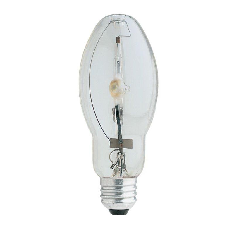 Picture of Feit Electric MH100/U/MED Metal Halide Lamp, 100 W, ED17 Lamp, Medium E26 Lamp Base, 4000 K Color Temp