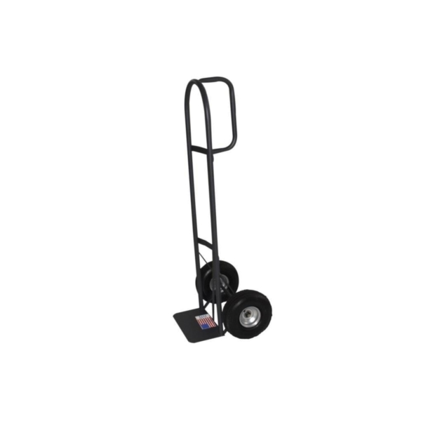 Picture of Milwaukee Hand Truck 30019 Hand Truck, 14 in W Toe Plate, 7-1/2 in D Toe Plate, 800 lb, Pneumatic Caster