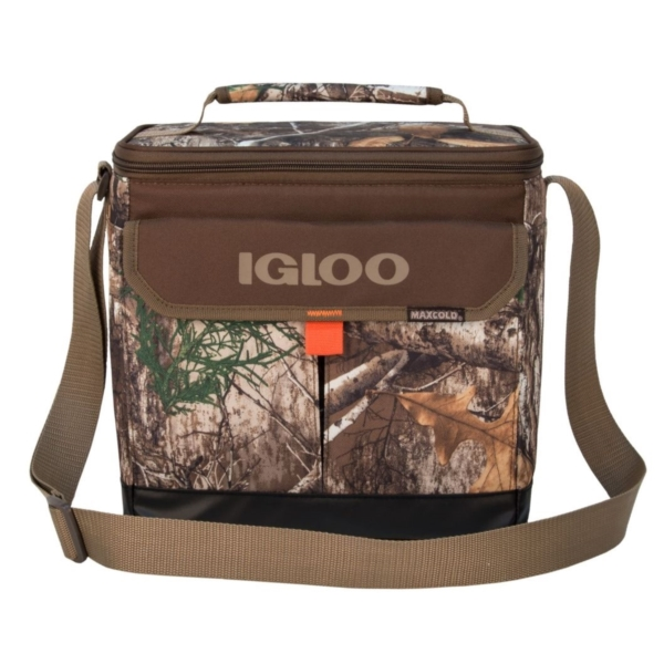 Picture of IGLOO Realtree 64638 Cooler Bag, 12 Cans Capacity, Camouflage