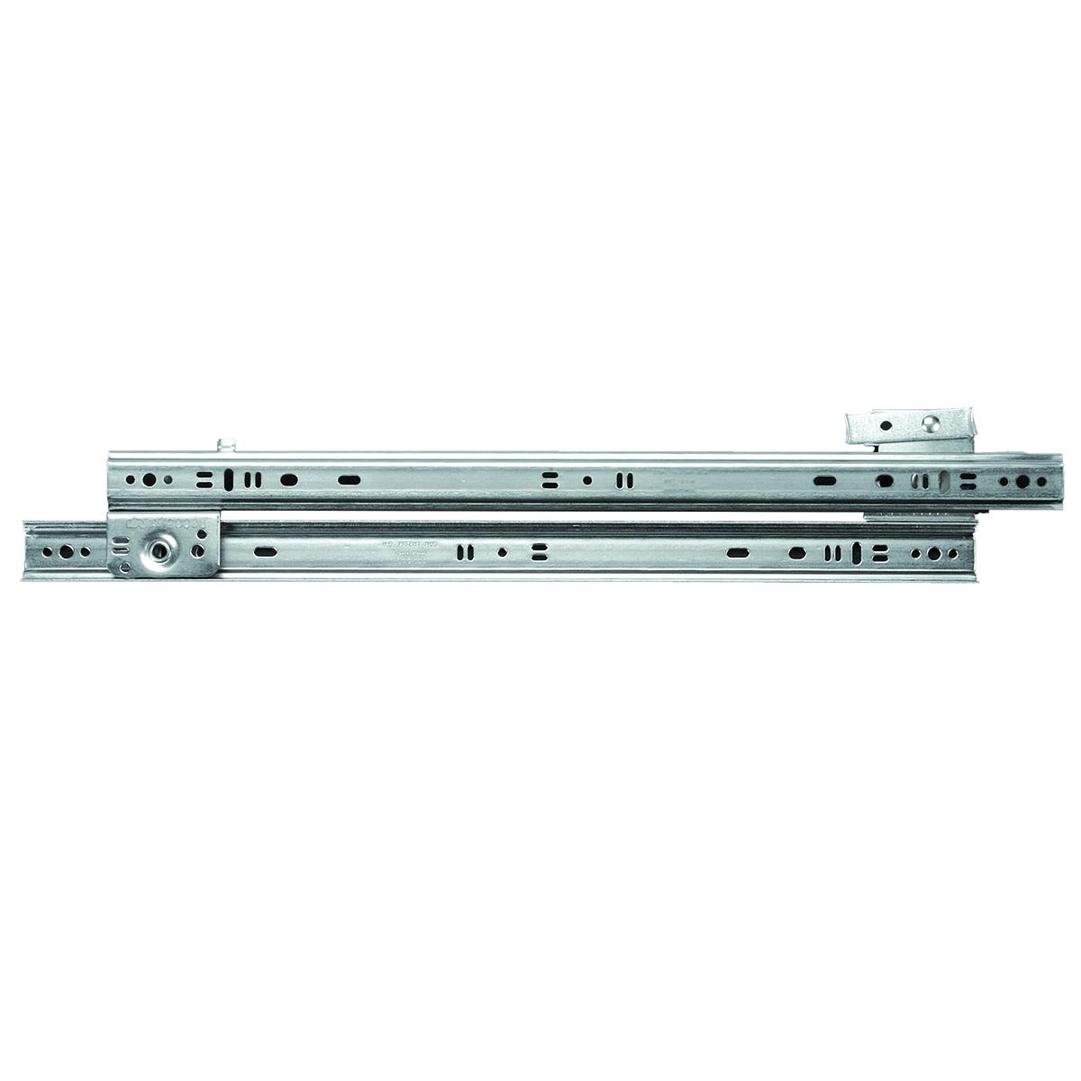 Picture of Knape & Vogt 1300P ZC 12 Drawer Slide, 75 lb, 12 in L Rail, 1/2 in W Rail, Steel, Zinc