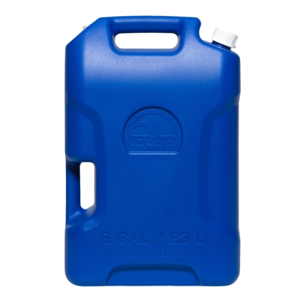 Picture of HOPKINS 42154 Water Container, 6 gal Capacity, Polyethylene, Blue