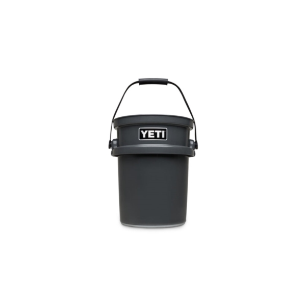 Picture of YETI 26010000012 Loadout Bucket, 5 gal Capacity, 10-1/4 in ID x 12-7/8 in OD Dia, Polyethylene, Charcoal