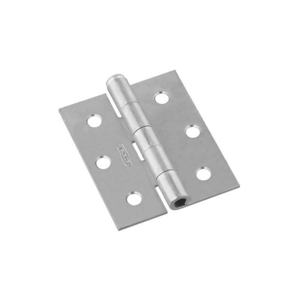 Picture of National Hardware N115-519 Screen/Storm Door Hinge, 3 in W Frame Leaf, 0.08 in Thick Frame Leaf, Steel, Zinc, 45 lb