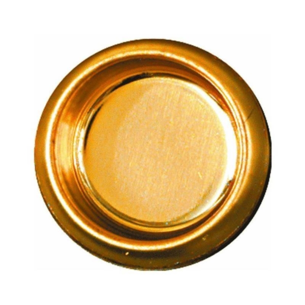 Picture of National Hardware N115-840 Door Cup Pull, Steel, Brass