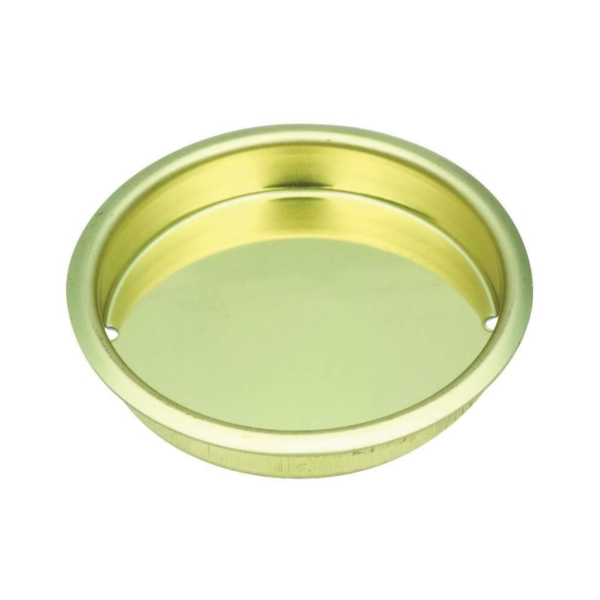 Picture of National Hardware N115-964 Door Cup Pull, 0.34 in D, Steel, Brass