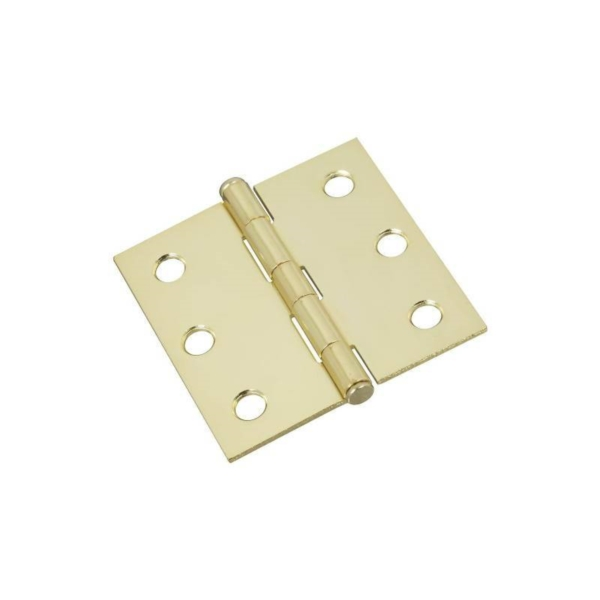 Picture of National Hardware N149-104 Cabinet Hinge, Brass