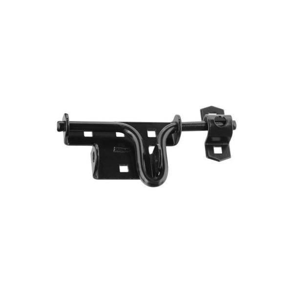 Picture of National Hardware N165-506 Door/Gate Latch, Steel, Black