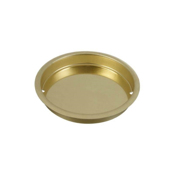 Picture of National Hardware N196-444 Door Cup Pull, Steel, Brass