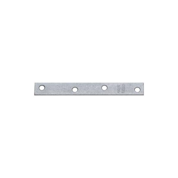 Picture of National Hardware N220-343 Mending Brace, 6 in L, 3/4 in W, 0.11 Gauge, Steel, Galvanized, Screw Mounting