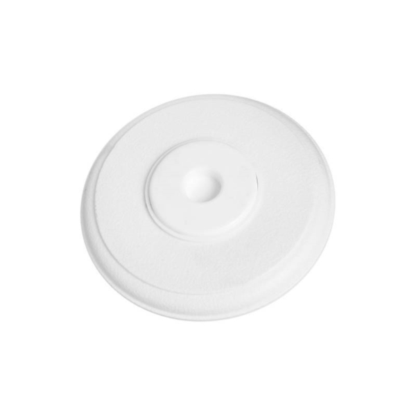 Picture of National Hardware N246-041 Door Stop, 5-3/8 in Dia Base, 11/16 in Projection, Plastic, White