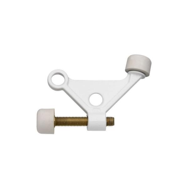 Picture of National Hardware N248-401 Hinge-Pin Door Stop, 1-7/8 in Projection, Zinc