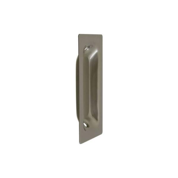 Picture of National Hardware N335-588 Door Pull, 1-3/8 in W, 3-1/4 in H, Steel, Satin Nickel