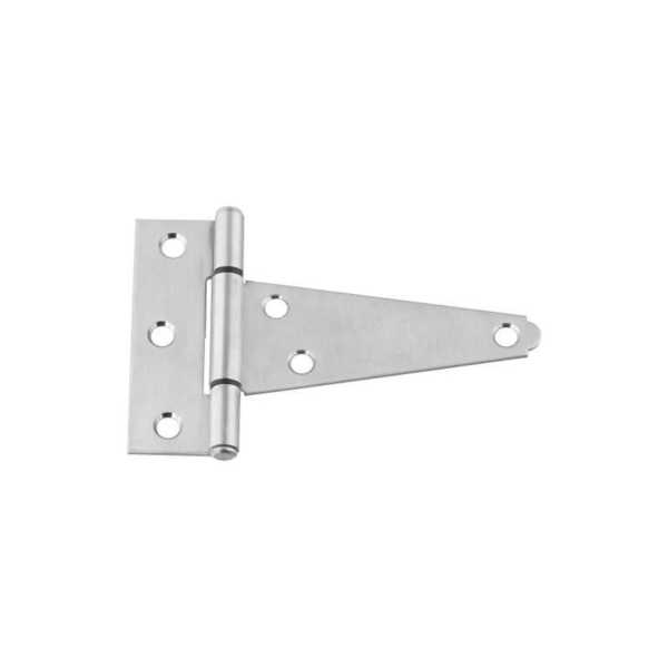 Picture of National Hardware N342-501 T-Hinge, Stainless Steel, Stainless Steel, Fixed Pin