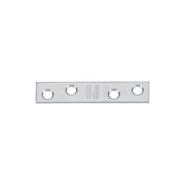Picture of National Hardware N348-367 Mending Brace, 3 in L, 5/8 in W, Stainless Steel, Screw Mounting