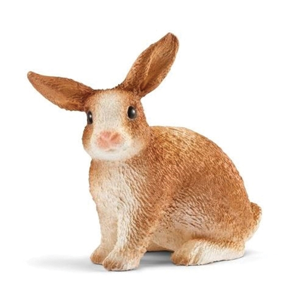 Picture of Schleich-S 13827 Figurine, 3 to 8 years, Rabbit, Plastic