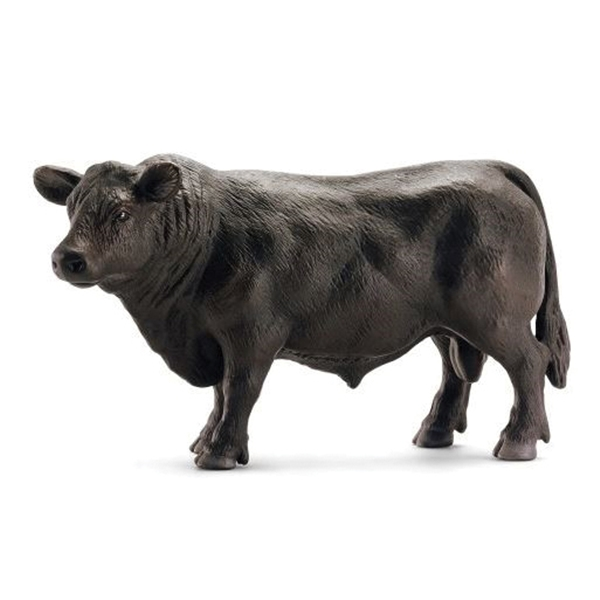 Picture of Schleich-S 13766 Figurine, 3 to 8 years, Angus Bull, Plastic