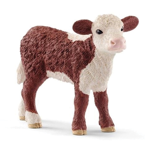 Picture of Schleich-S 13868 Figurine, 3 to 8 years, Hereford Calf, Plastic