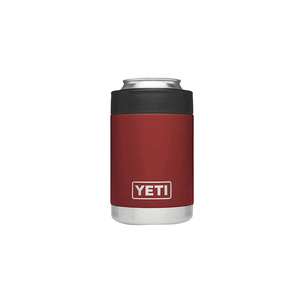 Picture of YETI Rambler YRAMCOLBR Colster, 12 oz Can/Bottle, Stainless Steel, Brick Red
