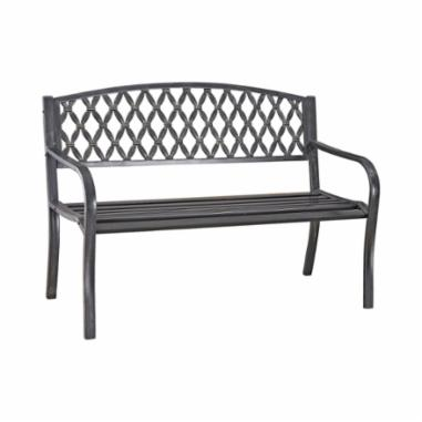 Picture of Seasonal Trends D3819C Park Bench, Steel Frame