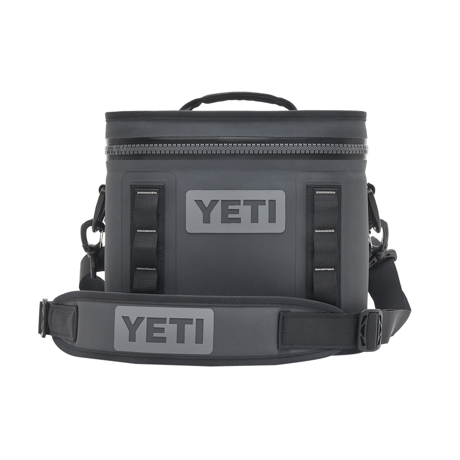 Picture of YETI Hopper Flip 8 18010130001 Soft Cooler, 8 Can Capacity, Dryhide Fabric, Charcoal