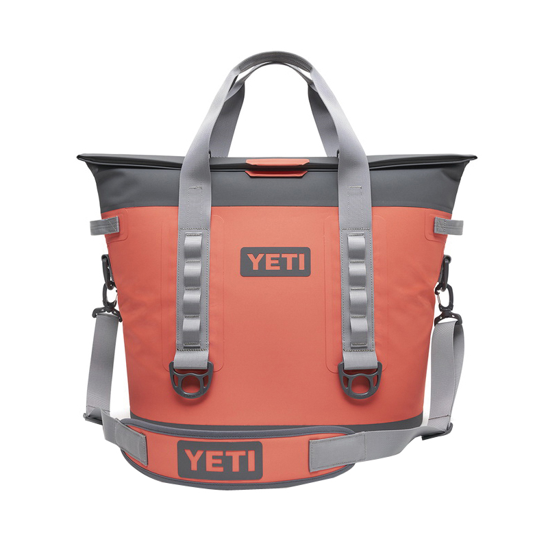 Picture of YETI Hopper M30 18060130030 Soft Cooler, 20 Can Capacity, Dryhide Fabric, Coral