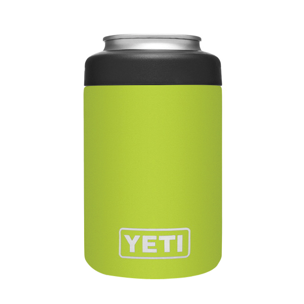 Picture of YETI Rambler 21070090075 Colster Can Insulator, 3 in Dia x 4-3/4 in H, 12 oz Can/Bottle, 18/8 Stainless Steel