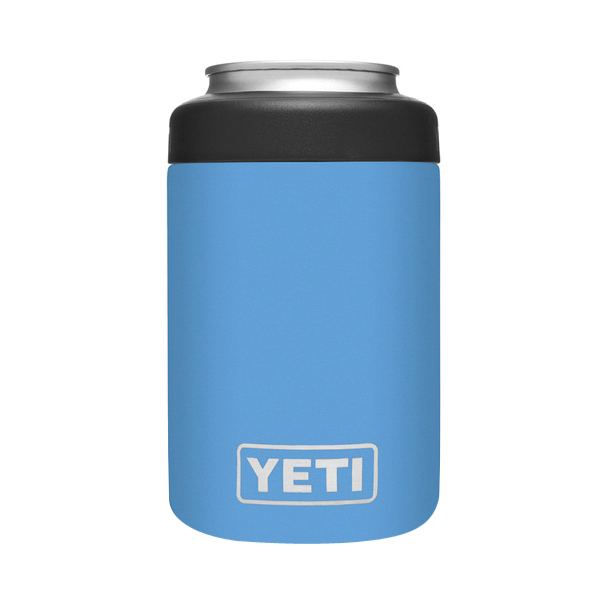 Picture of YETI Rambler 21070090077 Colster Can Insulator, 3 in Dia x 4-3/4 in H, 12 oz Can/Bottle, 18/8 Stainless Steel