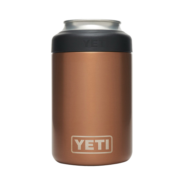 Picture of YETI Rambler 21070090118 Colster Can Insulator, 3 in Dia x 4-3/4 in H, 12 oz Can/Bottle, 18/8 Stainless Steel