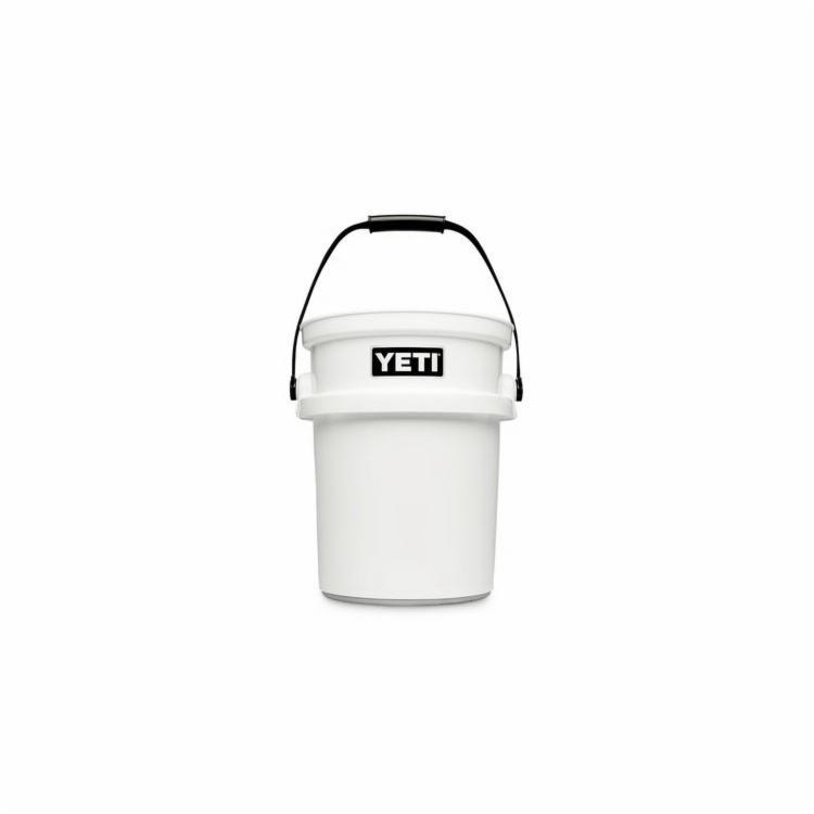 Picture of YETI YLOBW Bucket, 5 gal Capacity, 10-1/4 in ID x 12-7/8 in OD Dia, Polyethylene, White
