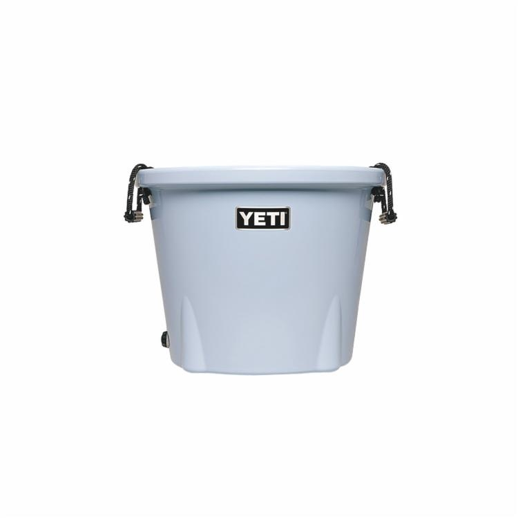 Picture of YETI Tank 45 Series YTK45B Ice Bucket, 21-1/8 in W, 21-1/8 in D, 16-5/8 in H, 43 lb Ice, 52 Cans Beer Capacity